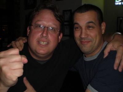 Steve and Carlos